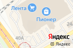 Схема проезда до компании Kari в Барнауле