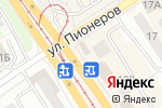 Схема проезда до компании Фактория джинс в Барнауле
