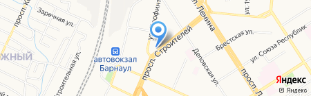 А-ап! на карте Барнаула