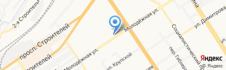 Шкатулка на карте Барнаула