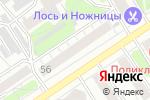 Схема проезда до компании Ми Леди в Барнауле