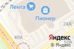 Схема проезда до компании 585 GOLD в Барнауле