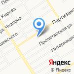 Отдел государственного контроля и надзора в области образования на карте Барнаула