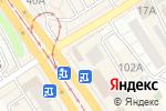 Схема проезда до компании Золото.рф в Барнауле