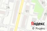 Схема проезда до компании ТЕЛЕГА в Барнауле