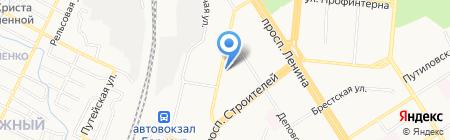 Антикриминал на карте Барнаула