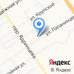 Железнодорожный районный суд г. Барнаула на карте Барнаула