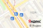 Схема проезда до компании Золотой в Барнауле