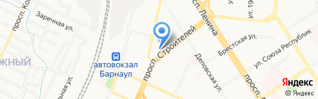 Центр лечения зависимостей на карте Барнаула
