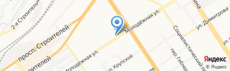 Мультисервис на карте Барнаула