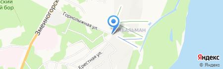 Авальман и К на карте Барнаула