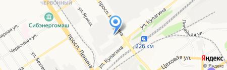 АЛЬБИОН МОТОРС на карте Барнаула