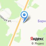 Город-Сад на карте Барнаула