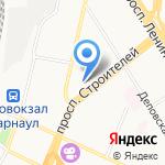 Аптека на карте Барнаула