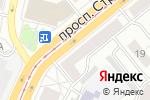 Схема проезда до компании Узоры в Барнауле