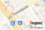 Схема проезда до компании Гарантпост в Барнауле