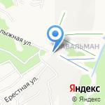 Авальман на карте Барнаула