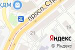 Схема проезда до компании Магазин новогодних подарков в Барнауле