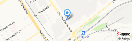 КресЛэнд на карте Барнаула