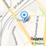 Золото.рф на карте Барнаула