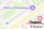 Схема проезда до компании Барнаульский пищевик в Барнауле