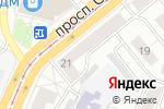 Схема проезда до компании Первая в Барнауле
