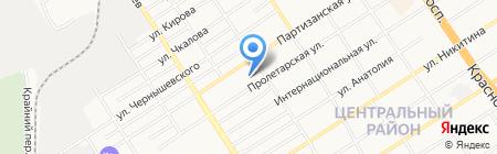 Отдел лицензирования и государственной аккредитации образовательных учреждений на карте Барнаула