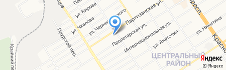 Flobaby на карте Барнаула