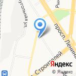 Пункт выдачи детского питания на карте Барнаула