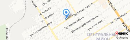 Старообрядческая церковь Покрова Пресвятой Богородицы на карте Барнаула