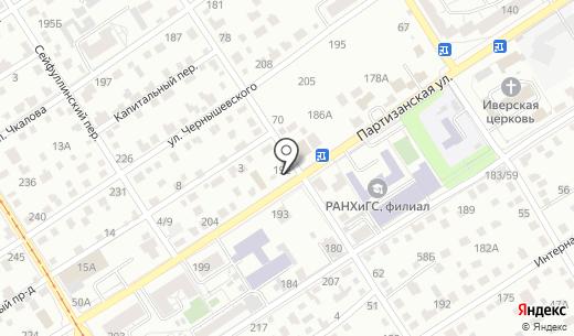 Старообрядческая церковь Покрова Пресвятой Богородицы. Схема проезда в Барнауле