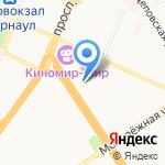 Мастерская по ремонту и пошиву мужской одежды на карте Барнаула