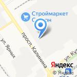 Т-Карусель на карте Барнаула