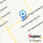 Де-виль на карте Барнаула