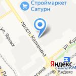 АФиБС на карте Барнаула