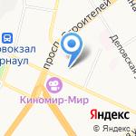 ПК-Сервис на карте Барнаула