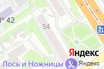 Схема проезда до компании Карта мира в Барнауле