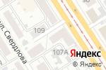 Схема проезда до компании Розочка в Барнауле