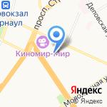 ГСК-283 на карте Барнаула