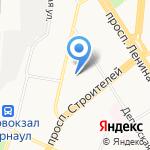 РАНТЬЕ на карте Барнаула