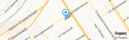 DИКСИС на карте Барнаула