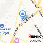 Квадро-Интерьер на карте Барнаула