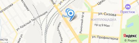 Ювелирный салон на карте Барнаула