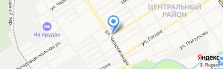 Ваш магазинчик на карте Барнаула