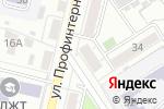 Схема проезда до компании На Деповской в Барнауле
