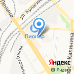 Табак & Трубки на карте Барнаула