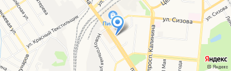 Мелодия на карте Барнаула