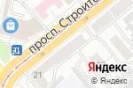 Схема проезда до компании Лана в Барнауле