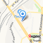 Вероника на карте Барнаула