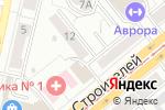 Схема проезда до компании Барнаульская Зеркальная Фабрика в Барнауле